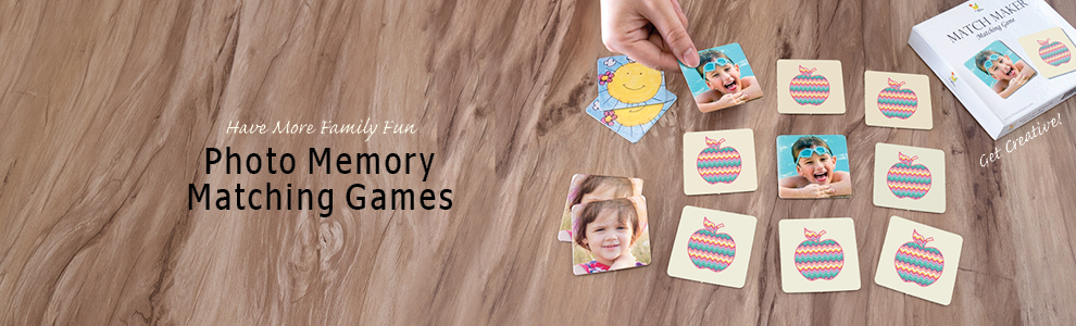 Photo Memory Matching Games