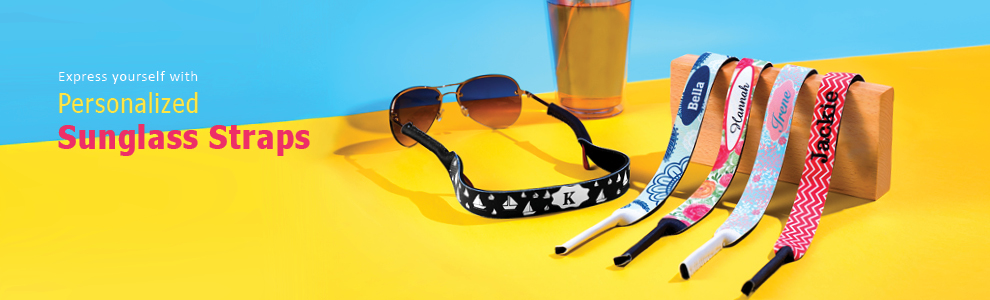 Personalized Sunglass Strap