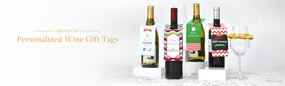 Personalized Wine Tags