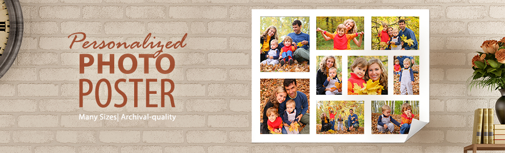 Personalized Photo Posters