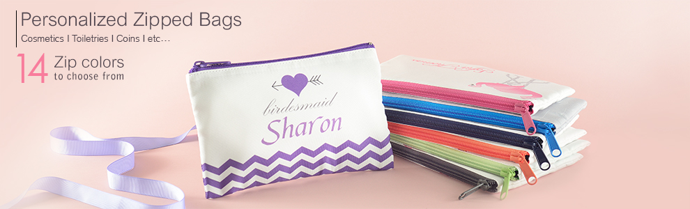 Printed Cosmetic Bags