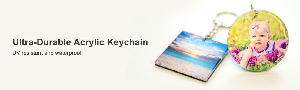 Personalized Acrylic Keychains