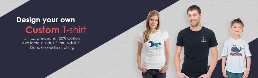 Full Color Print T-shirts