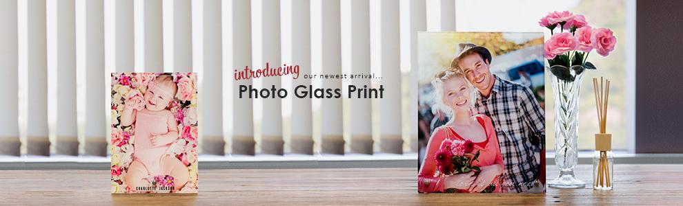 Personalized Photo Glass Prints