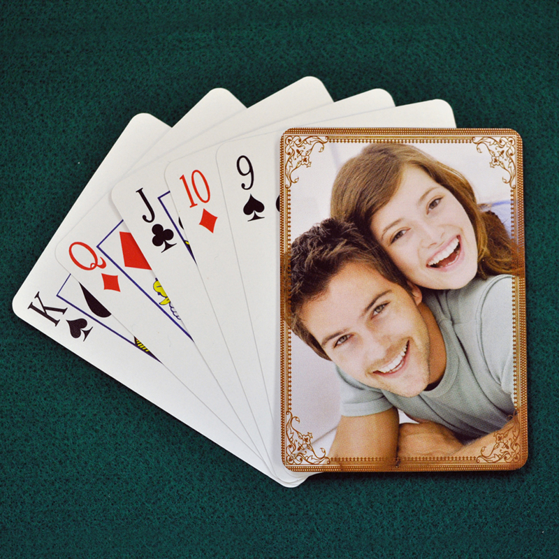 Wedding Anniversary Playing Cards Cocoa Vintage