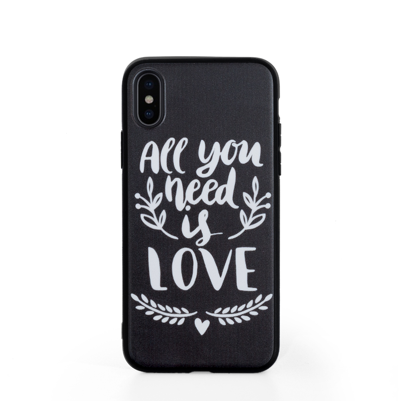 best sneakers ee9ce e815f Custom Design Phone Case with Black Liner for iPhone X / Xs