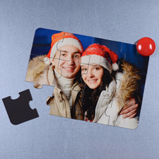 Magnetic Merry Christmas Invitation Puzzle, 5x7