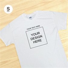 Square Image Message White Adult Small