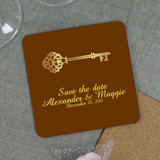 Elegant Wedding Key Personalized