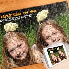 Photo Jigsaw Puzzle, Happy Easter