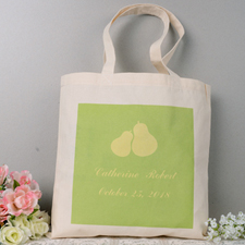 Perfect Pair Engagement Personalized Tote Bag