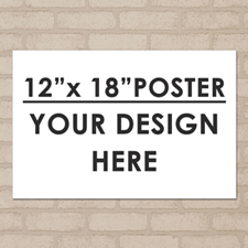 Photo Poster Print Single Image 12 X 18 Landscape