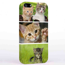 Personalized Three Collage iPhone 5 Case