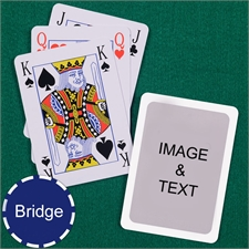 Bridge Size Playing Cards Bridge Style White Border