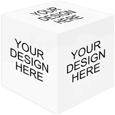 Print Your Design Photo Cube, 5 panels