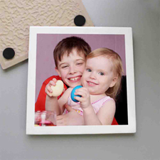 Personalized Photo Gallery Tile Coaster