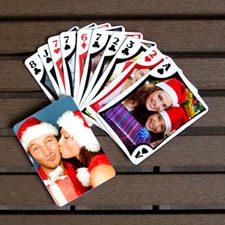 Holiday Poker Size Modern Custom 2 Sides