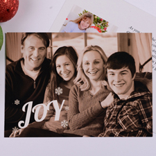 Personalized Joy Invitation Card