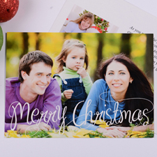 Personalized Merry Christmas Invitation Card