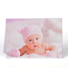 Personalized Welcome Baby Greeting Cards
