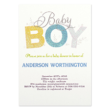 new baby invitation cards