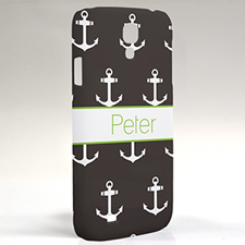 Custom Design Black Anchors Samsung Phone Case