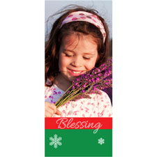 Personalized Blessing Lenticular Bookmark