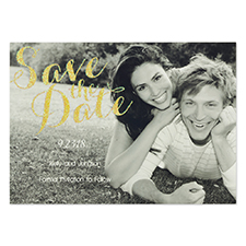 Personalized Happily Together Save The Date Cards
