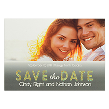 Personalized Perfect Together Save The Date Cards