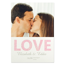 Personalized Love You Save The Date Cards