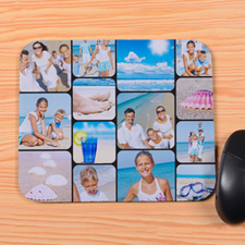 Personalized Instagram 14 Photos Mouse Pad