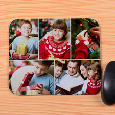 Personalized 5 Collage Mouse Pad