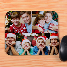 Personalized 3 Collage Mouse Pad