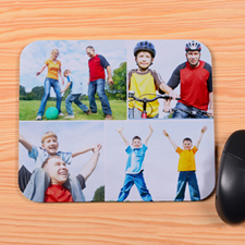 Personalized 4 Collage Mouse Pad