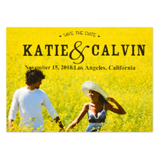 Best Date Ever Personalized Save the Date
