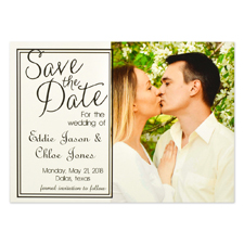 Shared Forever Personalized Save the Date