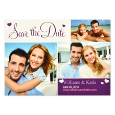 Playful Patterns Personalized Save the Date