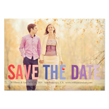 Boldly Stated Personalized Save the Date