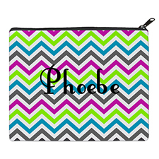 Print Your Own Colorful Chevron Pattern Bag (8 X 10 Inch)