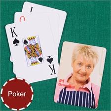 Poker Size Jumbo Index Playing Cards