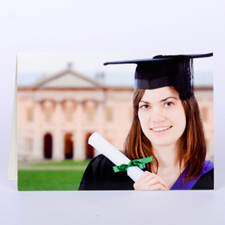 Custom Printed Graduation Greeting Card