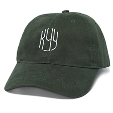Personalized Embroidery Baseball Cap,  Forest Green