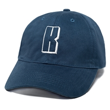 Custom Design Embroidery Baseball Cap, Navy