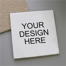 Custom Your Design Here Ceramic Tile