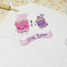 Little Baker Personalized Kids Apron
