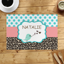 Personalized Bird Placemats