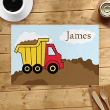 Personalized Truck Placemats