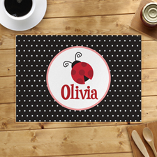 Personalized Beetle Placemats