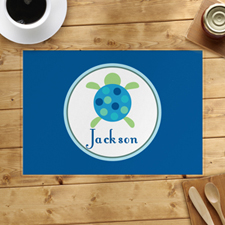 Personalized Sea Tortoise Placemats