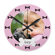 My Best Friend Personalized Acrylic Clock Custom Printed
